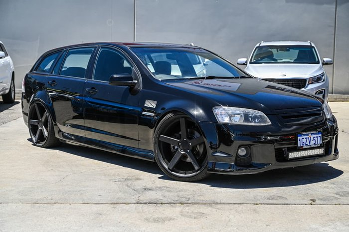 2011 Holden Commodore SS VE Series II Black
