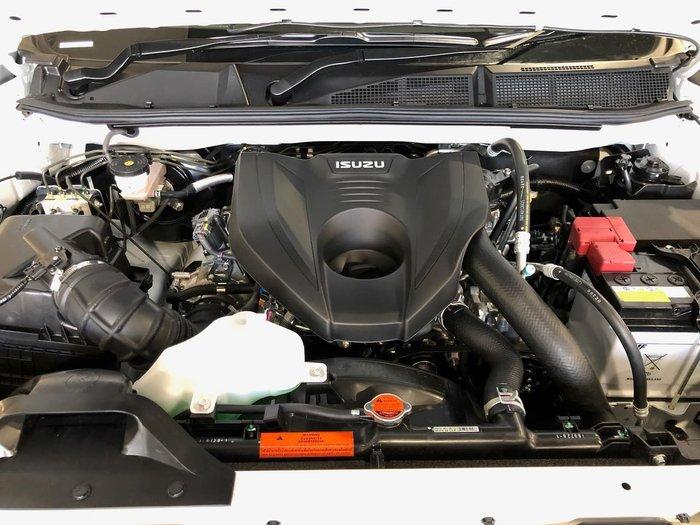 2020 Isuzu D-MAX SX MY21 4X4 Dual Range Silver