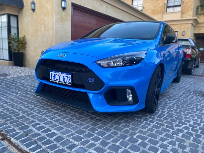 2017 Ford Focus RS LZ Four Wheel Drive Blue