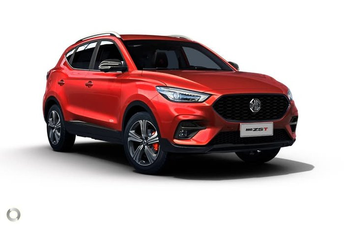 2020 MG ZST Excite MY21 Red