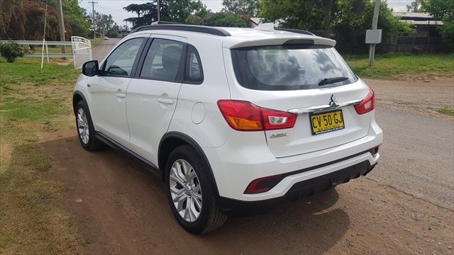 2019 MITSUBISHI ASX ES ADAS ( 2WD) XC MY19 white