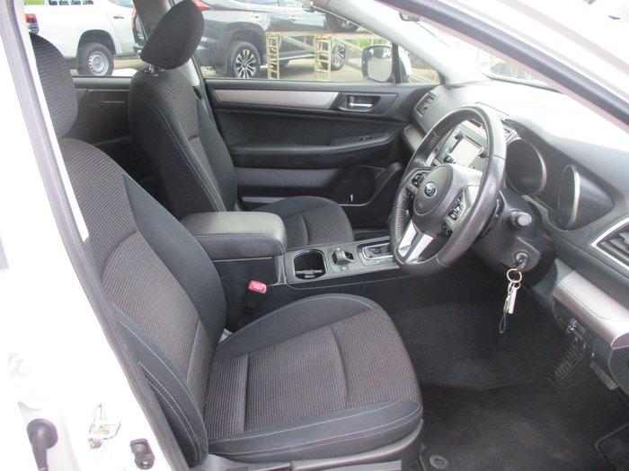 2017 Subaru Outback 2.5i 5GEN MY17 Four Wheel Drive White