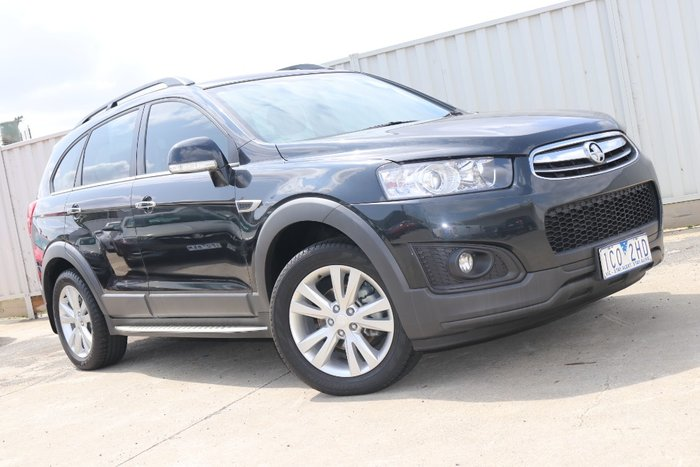 2014 Holden Captiva 7 LT CG MY14 4X4 On Demand Black