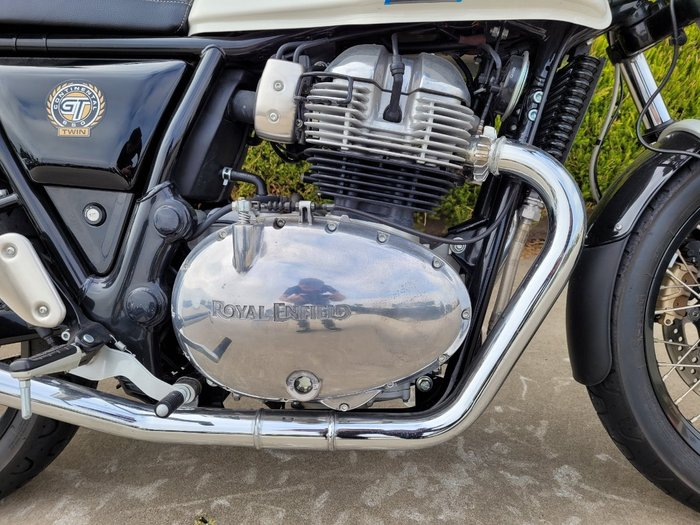 2020 Royal Enfield CONTINENTAL GT 650 CLASSIC White