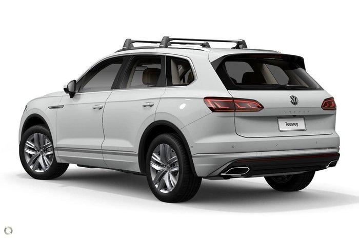 2020 Volkswagen Touareg 190TDI Adventure CR MY20 Four Wheel Drive White