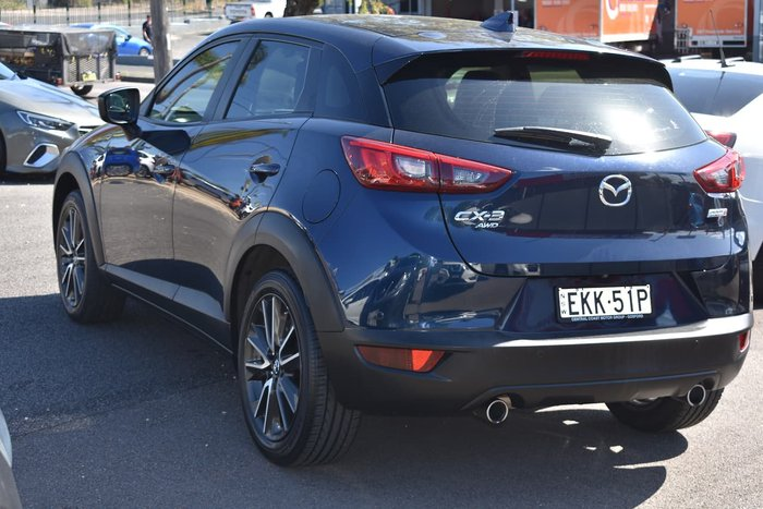 2015 Mazda CX-3 sTouring DK 4X4 On Demand Blue