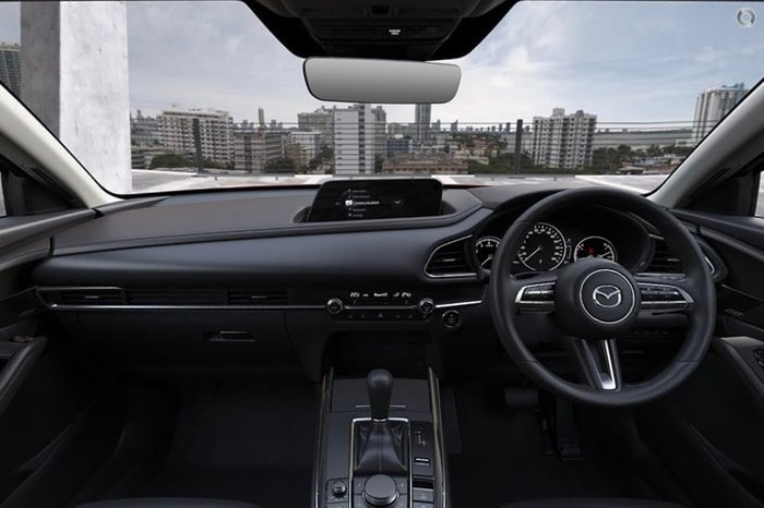2020 Mazda CX-30 G25 Astina DM Series 4X4 On Demand Black