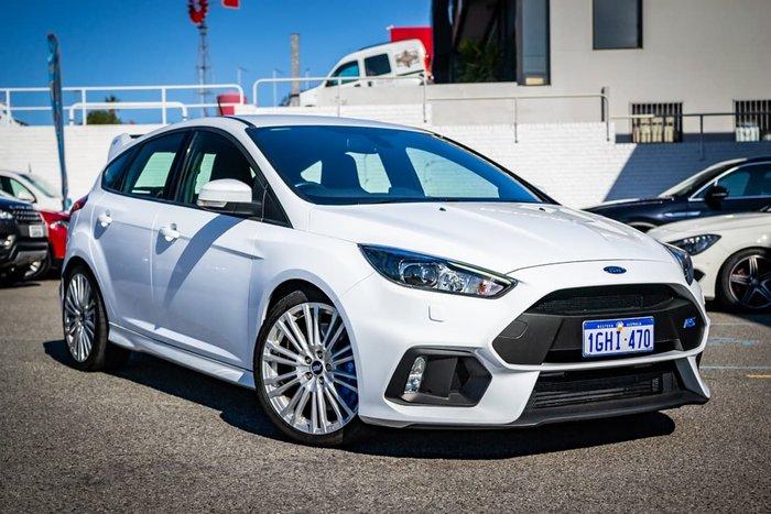 2017 Ford Focus RS LZ Four Wheel Drive White
