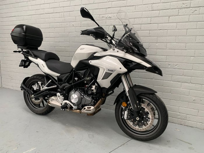 2019 Benelli TRK 502 (ABS) White