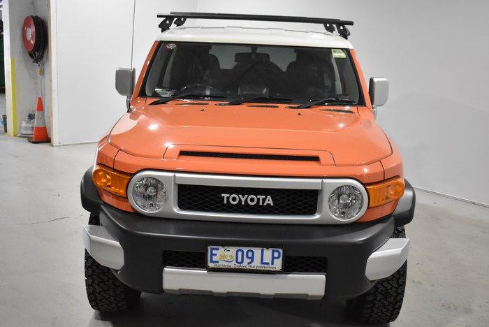 2014 Toyota FJ Cruiser GSJ15R MY14 4X4 Dual Range Orange