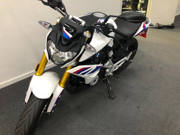2018 BMW G 310 R White