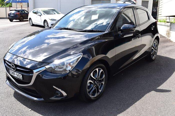 2018 Mazda 2 Genki DJ Series Black