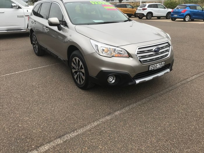 2017 Subaru Outback 2.5i 5GEN MY17 Four Wheel Drive Brown