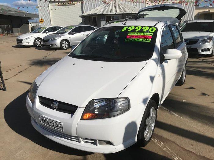 2007 Holden Barina TK MY07 White
