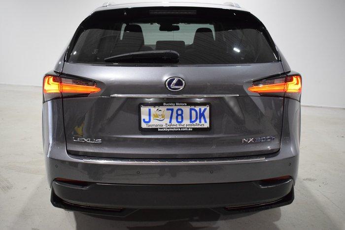 2015 Lexus NX NX300h Sports Luxury AYZ15R 4X4 On Demand Silver