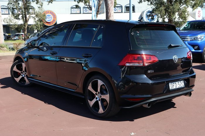 2016 Volkswagen Golf GTI 7 MY16 Black