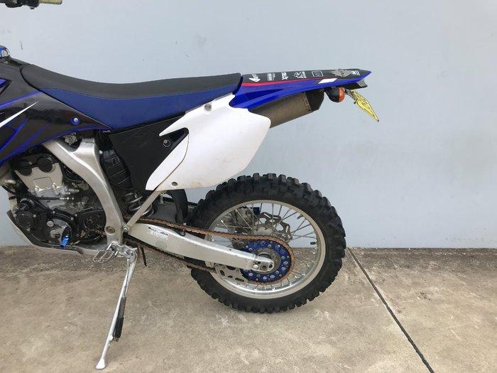 2008 Yamaha WR250F Blue