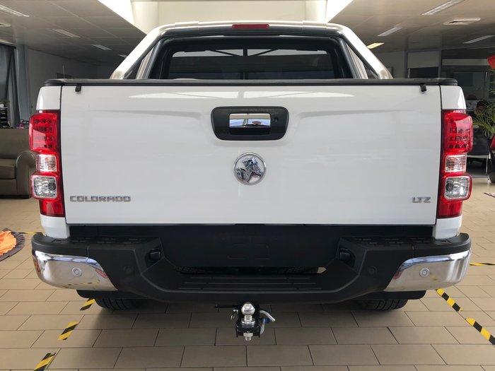 2019 Holden Colorado LTZ RG MY19 4X4 Dual Range Summit White