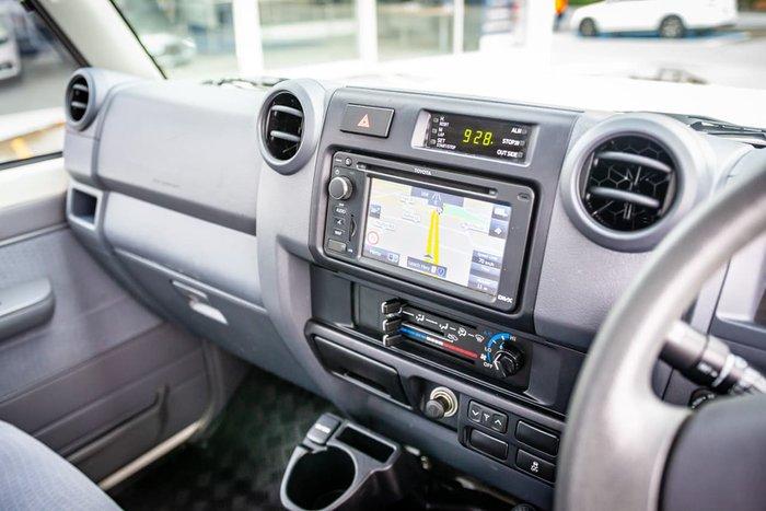 2017 Toyota Landcruiser GXL VDJ79R 4X4 Dual Range White