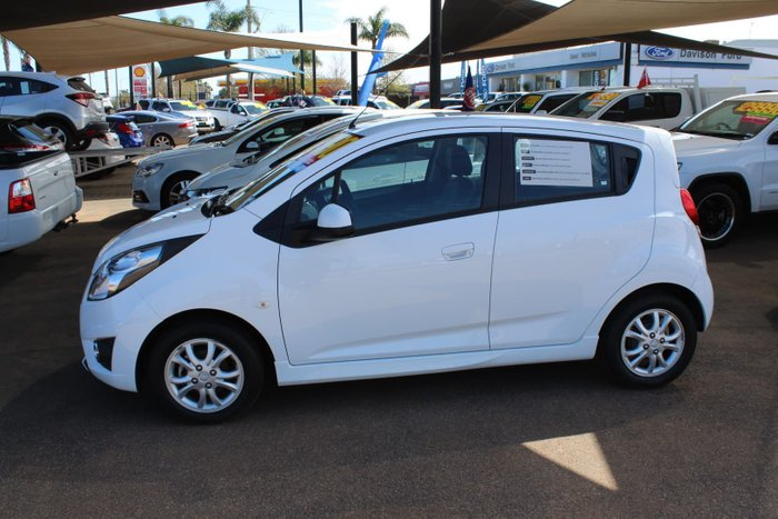 2015 Holden Barina Spark CD MJ MY15 Summit White