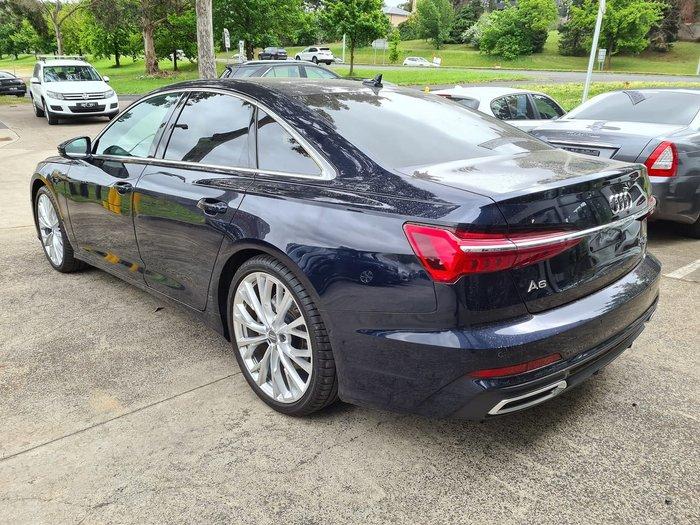 2019 Audi A6 55 TFSI S line 4A MY19 4X4 On Demand Blue
