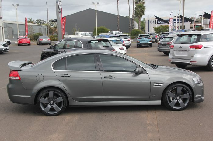 2012 Holden Commodore SV6 Z Series VE Series II MY12.5 Grey