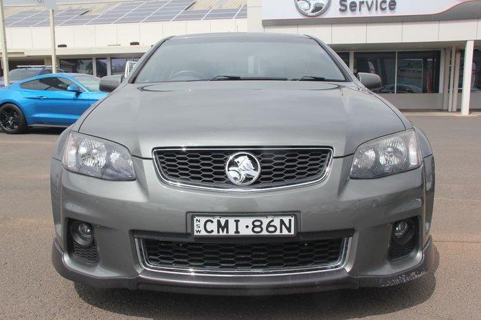 2012 Holden Commodore SV6 Z Series VE Series II MY12.5 Grey