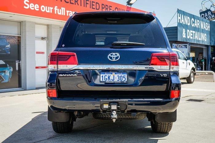 2017 Toyota Landcruiser Sahara VDJ200R 4X4 Dual Range Blue
