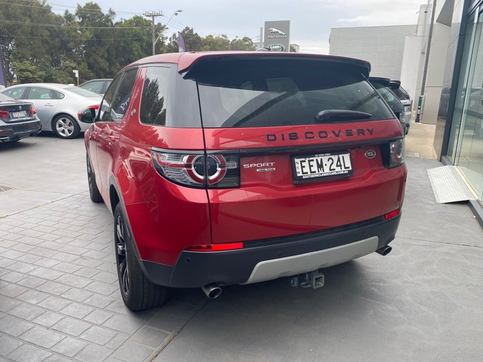 2016 Land Rover Discovery Sport TD4 HSE L550 MY16.5 4X4 Constant Red
