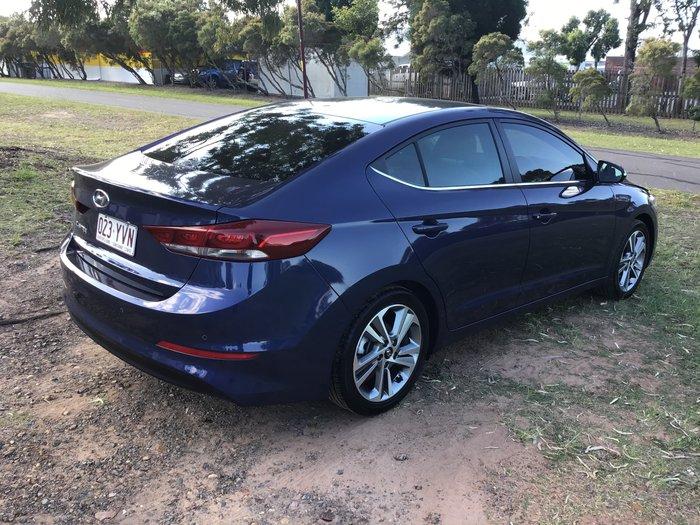 2017 Hyundai Elantra Elite AD MY18 Blue