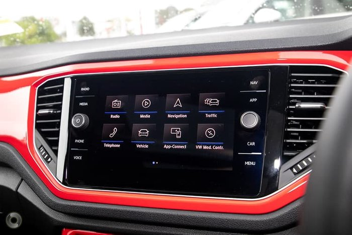 2020 Volkswagen T-Roc 140TSI X A1 MY20 Four Wheel Drive Red