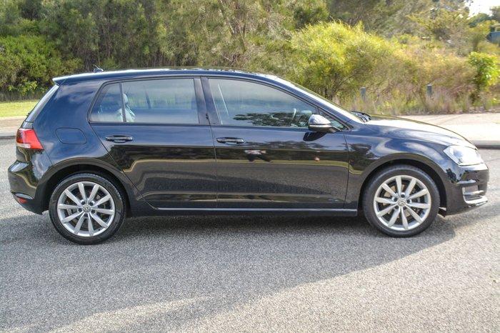 2015 Volkswagen Golf 110TDI Highline 7 MY16 Black