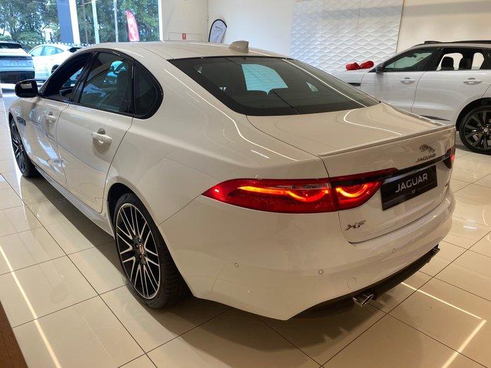2019 Jaguar XF 25t R-Sport X260 MY20 Fuji White