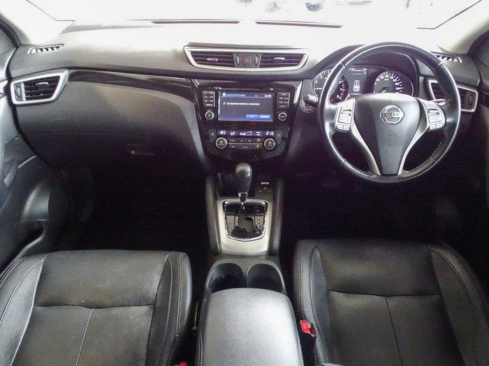 2014 Nissan QASHQAI Ti J11 Black