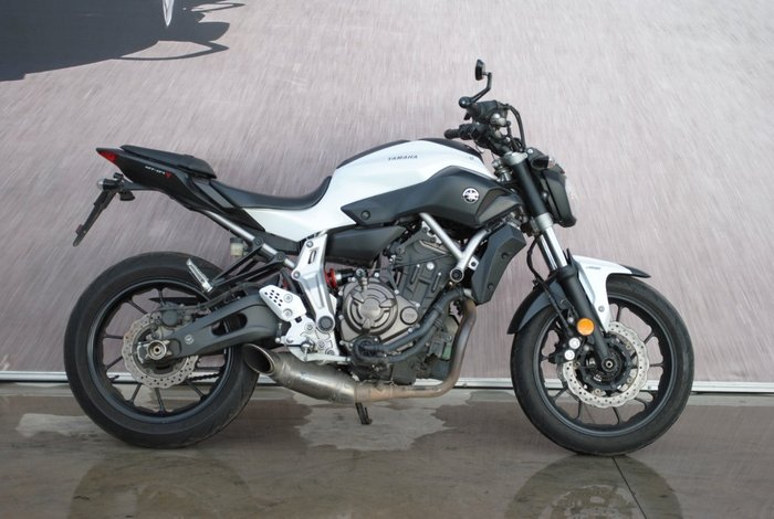 2015 Yamaha MT-07 LA White
