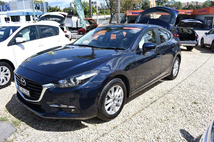 2018 Mazda 3 Touring BN Series Blue