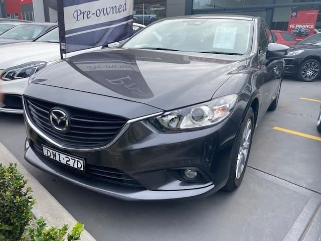 2017 Mazda 6 Sport GL Series Grey