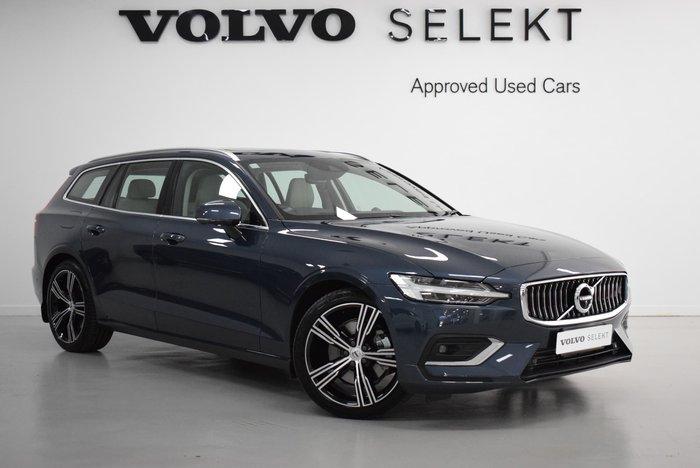 2019 Volvo V60 T5 Inscription MY20 4X4 On Demand Denim Blue