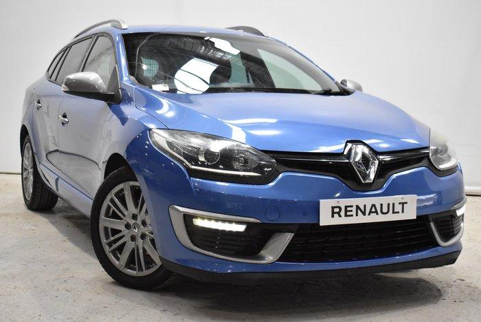 2016 Renault Megane GT-Line III K95 Phase 2 Malta Blue