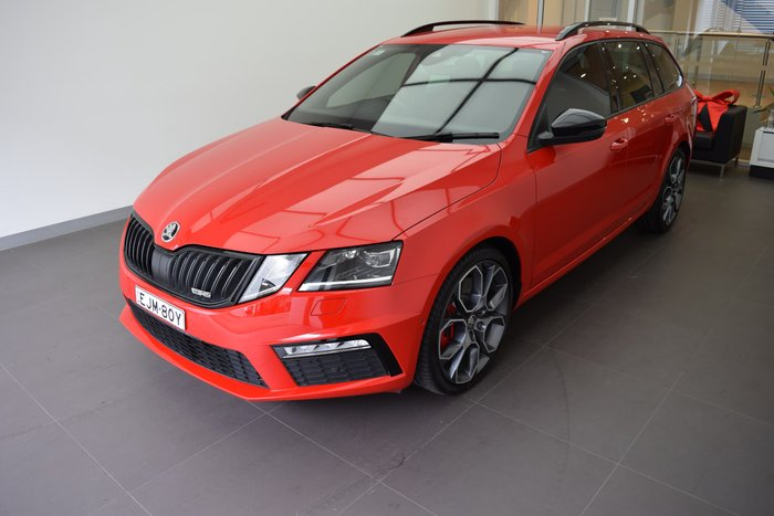 2018 SKODA Octavia RS 169TSI NE MY18.5 Red