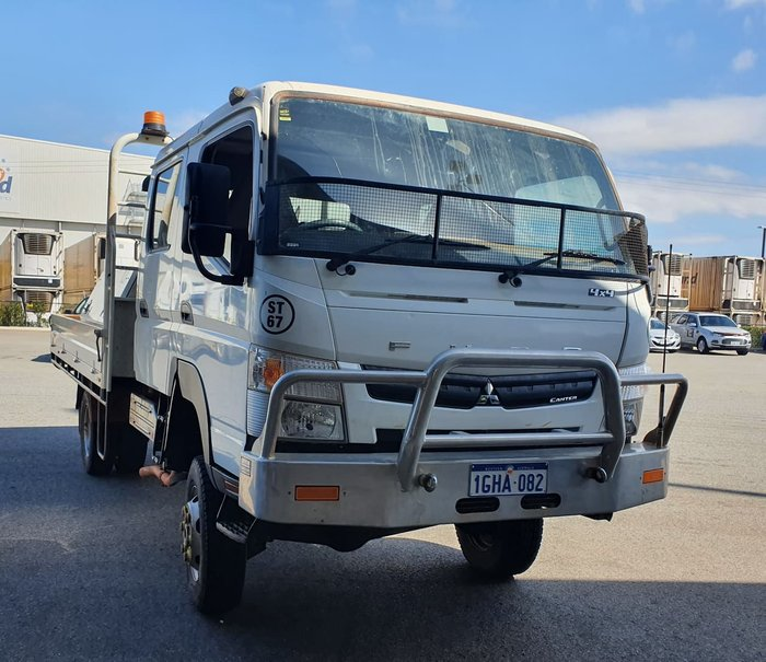 2016 FUSO CANTER FG WHITE