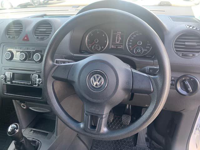 2014 Volkswagen Caddy TDI250 2KN MY14 White