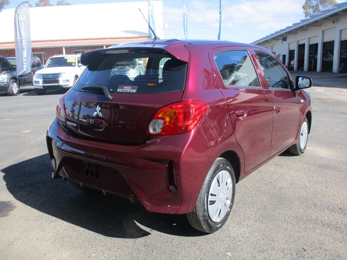 2020 Mitsubishi Mirage ES LB MY21 Red
