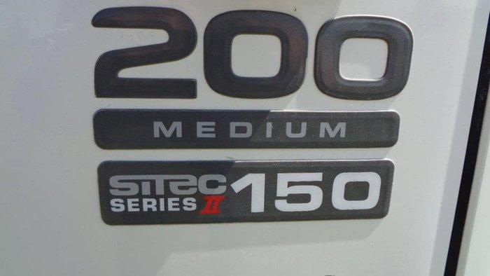 2008 ISUZU White