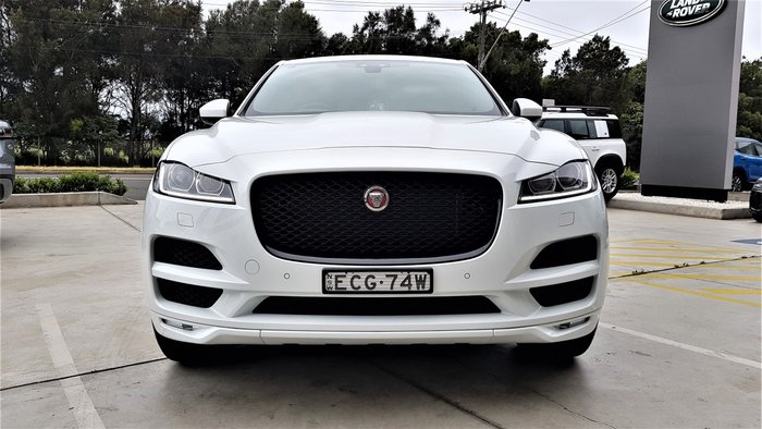 2018 Jaguar F-PACE 25t Prestige X761 MY18 Four Wheel Drive Fuji White