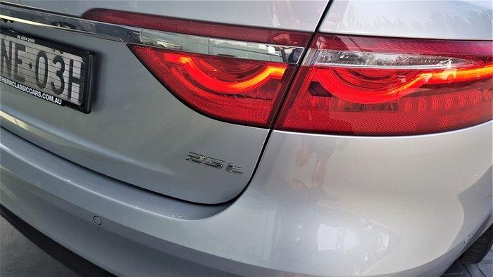 2017 Jaguar XF 25t Prestige X260 MY18 Silver