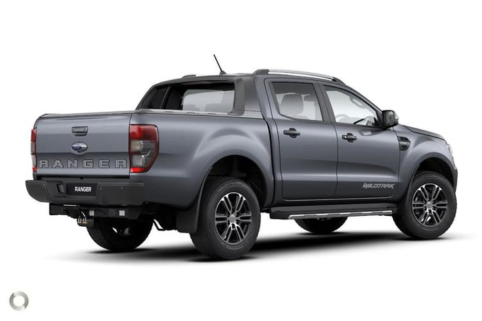2020 Ford Ranger Wildtrak PX MkIII MY20.75 4X4 Dual Range Grey