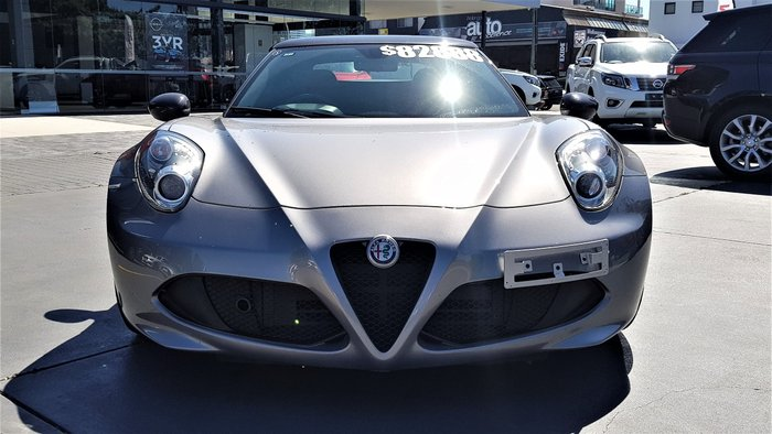 2018 Alfa Romeo 4C Series 1 Grey