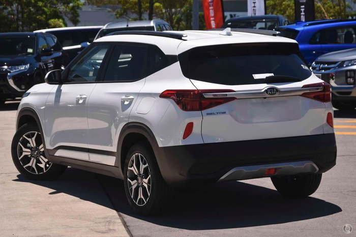 2020 Kia Seltos Sport+ SP2 MY21 White