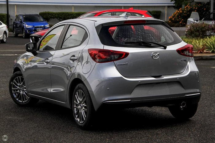 2020 Mazda 2 G15 GT DJ Series Silver